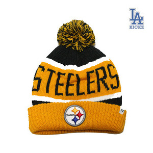 Pittsburgh Steelers Pom Beanie Hat