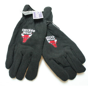 Chicago Bulls HWC Logo Ski Gloves