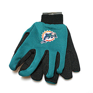 Miami Dolphins Utility Gloves
