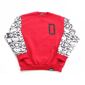 Snake Sleeve Crew - Red