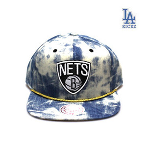 Brookyn Nets Denim Snapback Hat