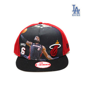 Lebron James #6 Snapback Hat