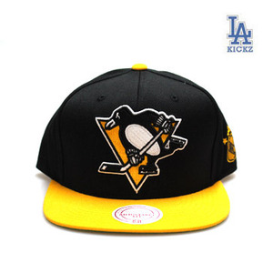 Pittsburgh Penguins Big Logo Snapback Hat