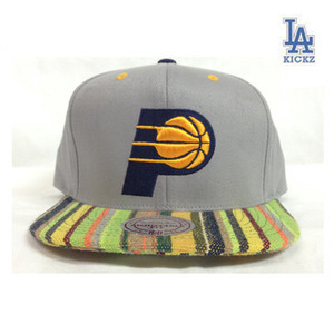 Indiana Pacers Guatemala Snapback Hat