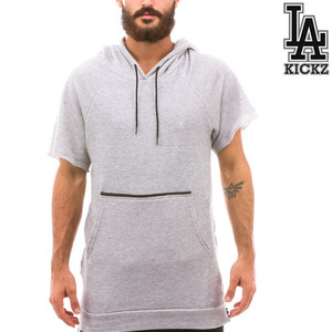The Nobu Cutoff The Nobu Cutoff Hoodie -Grey-