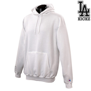 eco hooeded sweat shirts - White