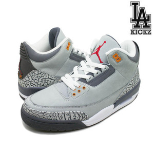 [NEW][270]Air Jordan 3 Retro 쿨그레이