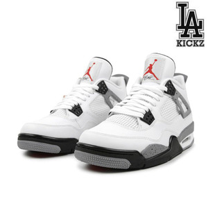 [NEW][265]Air Jordan 4 Retro 시멘트