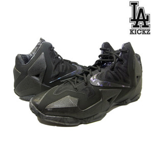 Nike Lebron XI 11 Black Multi-Color [616175-090]