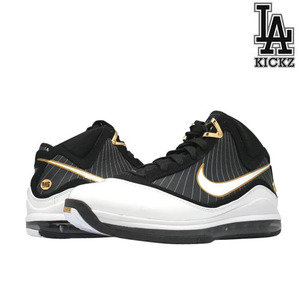 Air Max Lebron VII 7 Balck / Gold [375664-011]