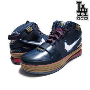 Nike Zoom Lebron VI 6 Chalk Midnight Navy Varsity Crimson [346526-441]