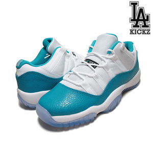 Air Jordan 11 Retro Low GS 아쿠아 [580521-143]
