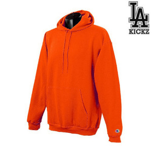 eco hooeded sweat shirts - Orange