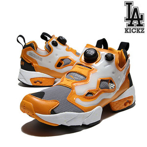 [NEW][270]Reebok x Major Insta Pump Fury (Foggy Grey/Team Orange/White) [v61481]