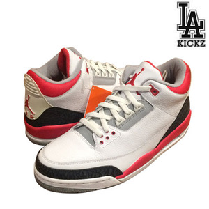 [NEW][285]Nike 2006 Air Jordan 3 Fire Red [136064-161]