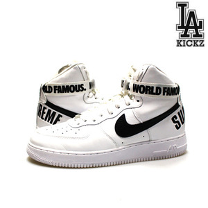 [USED][295] Nike Air Force 1 High Sutreme SP [698696-100]