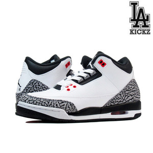 Air Jordan 3 Retro GS 인프라 [398614-123]
