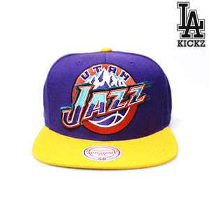 Utah Jazz HWC Snapback Hat Away