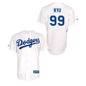 Los Angeles Dodgers Authentic Ryu Jersey
