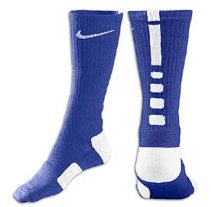 Nike Elite Basketball Crew Socks -Blue/Wht-