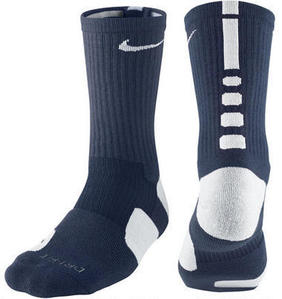 Nike Basketball Crew Socks -Navy/Wht-
