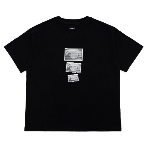 [TRAVS] TRAVS EYES T-SHIRTS - BLACK