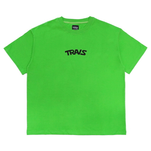 [TRAVS] TRAVS LOGO T-SHIRTS - LIGHT GREEN