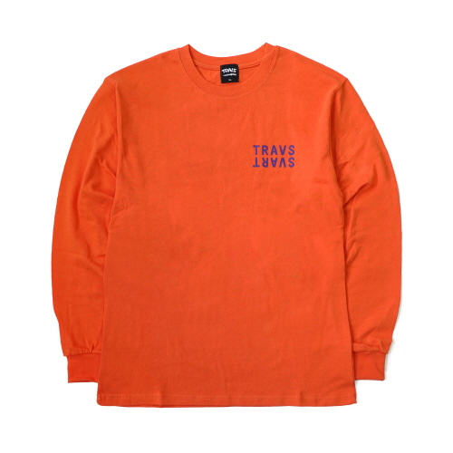 [TRAVS] SVARTCODE L/SHIRTS - ORANGE