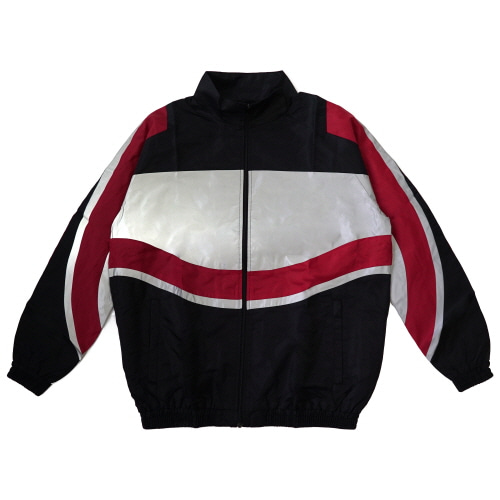 [TRAVS] RIDERS JACKET - BLACK/GREY/RED