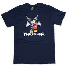Mousegoat Tee - Navy