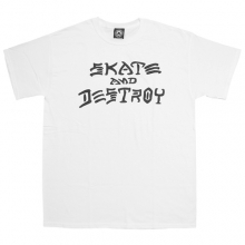 Skate And Destroy Tee - White