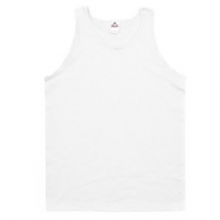 (1307)Adult Tank Top - White