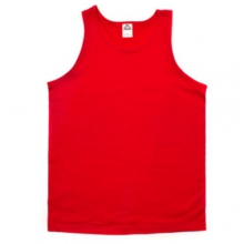(1307)Adult Tank Top - Red