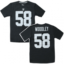 Pro Line 58 Mens Oak Raiders Team Jersey T - Black