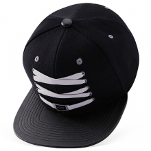 Black And Grey Snapback