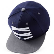 Navy And Grey Snapback