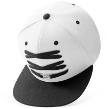 White And Black Snapback