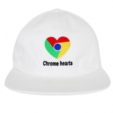 Chrome Hearts Strapback - White