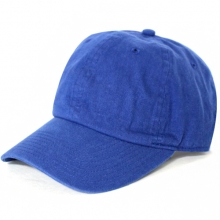 Brushed Cotten 6 Panel cap - Royal