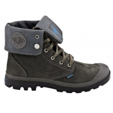 Baggy Leather Gusset - Charcoal Black [02745048]