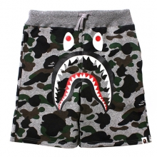 Camo Shark Sweat - Heather Grey
