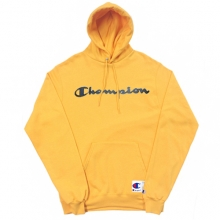 Retro Graphic Pullover Hoodie - Team Gold