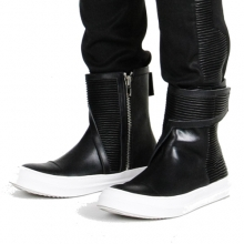 Asymmetry Cowskin High-Top (Order Made 14~21일 소요)