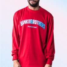 [Bank2Brothers]Basic Long Sleeves - Red