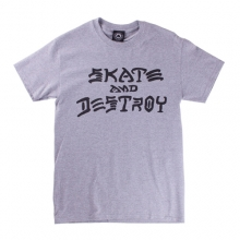 Skate And Destroy Tee - Grey