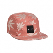 Plantlife Volley Camp Cap - Smoked  Pink