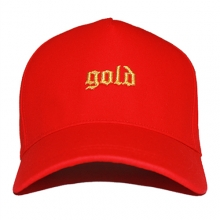 [30% SALE][OBH] Gold Snapback - Red