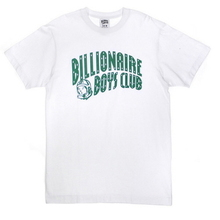 Arch Logo SS Tee - White/Green