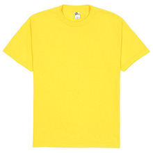 (1301)Adult Short Sleeve Tee - Yellow