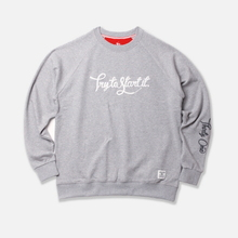 Try Applique Raglan - Grey